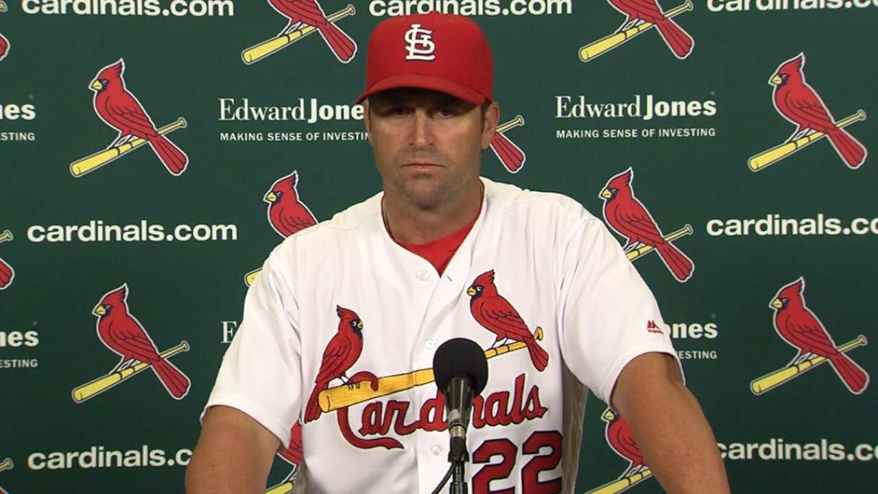 Wacha describes arm as 'dragging' after loss
