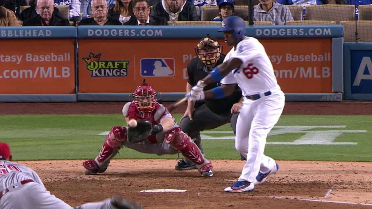 Puig benched for not hustling out of box