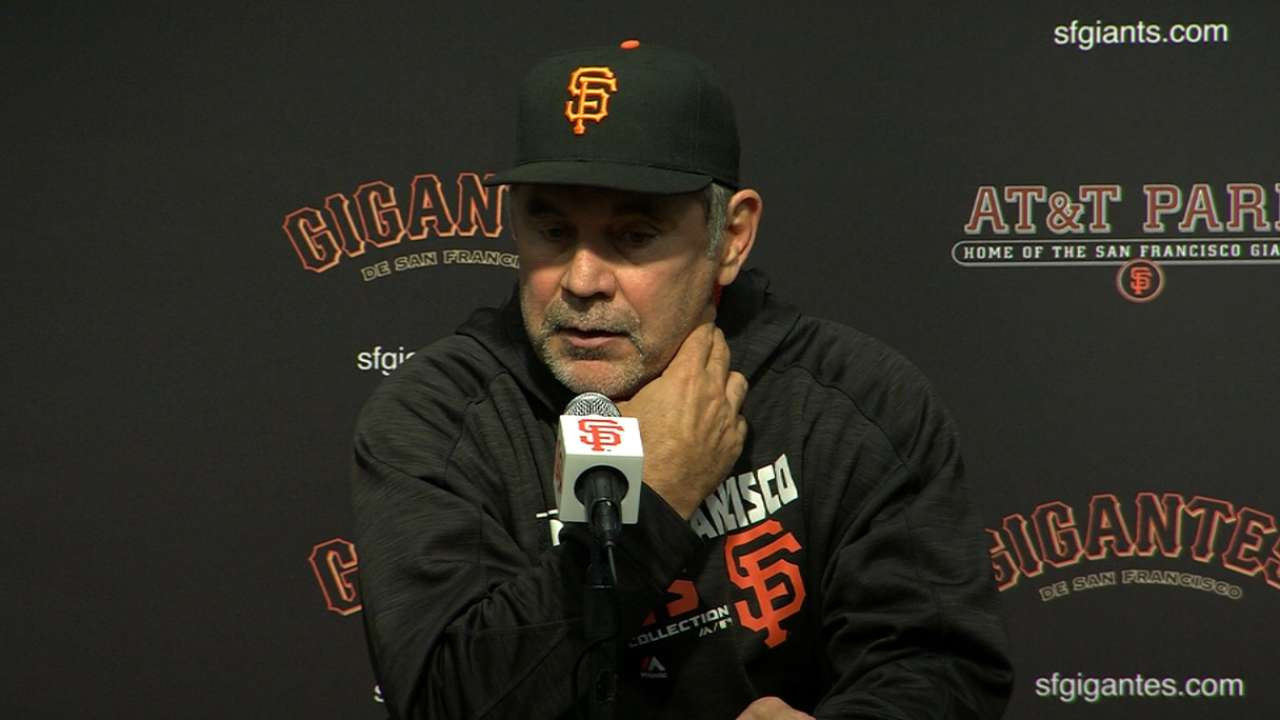 Bochy on 8-2 win over Padres