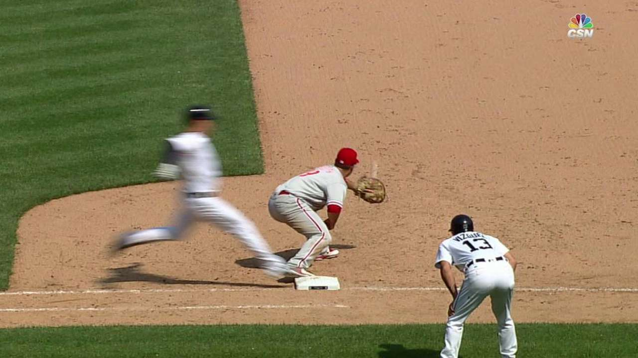 Galvis gets Iglesias on review