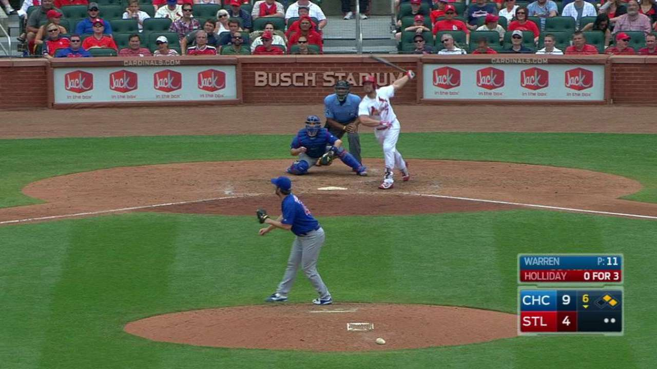 Cardinals continue to be thorn in Arrieta's side