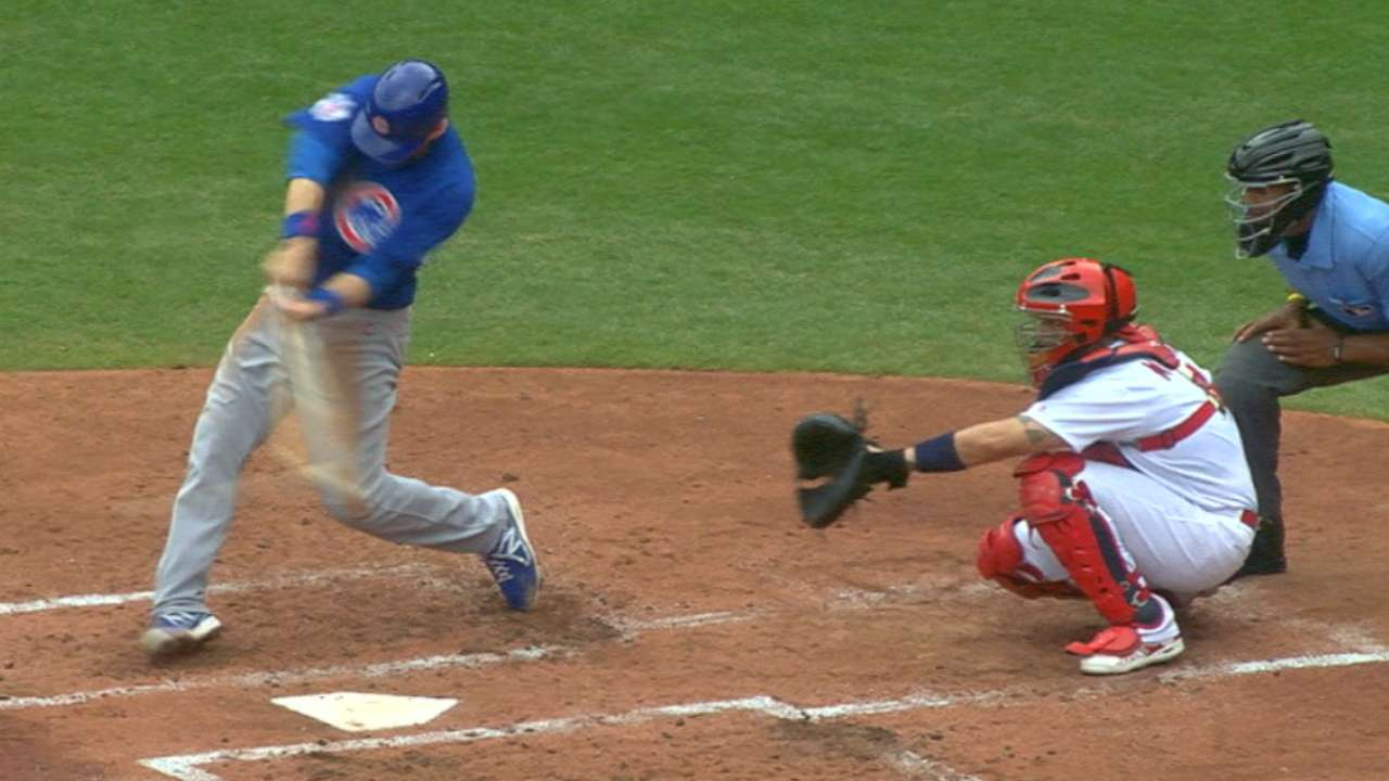Cubs outslug Cards as Arrieta moves to 9-0