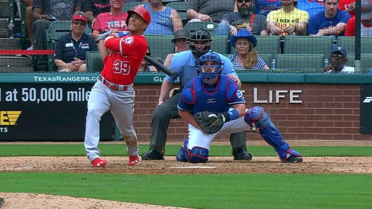 Ortega's first career home run