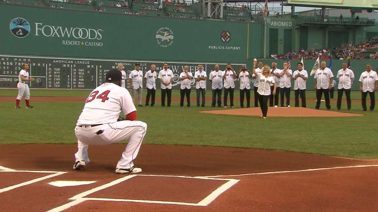 Red Sox honor 1986 AL champions