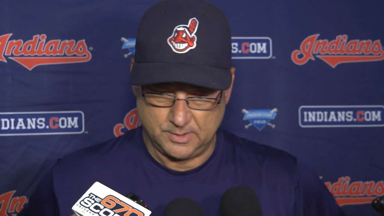 Francona on Kluber's outing