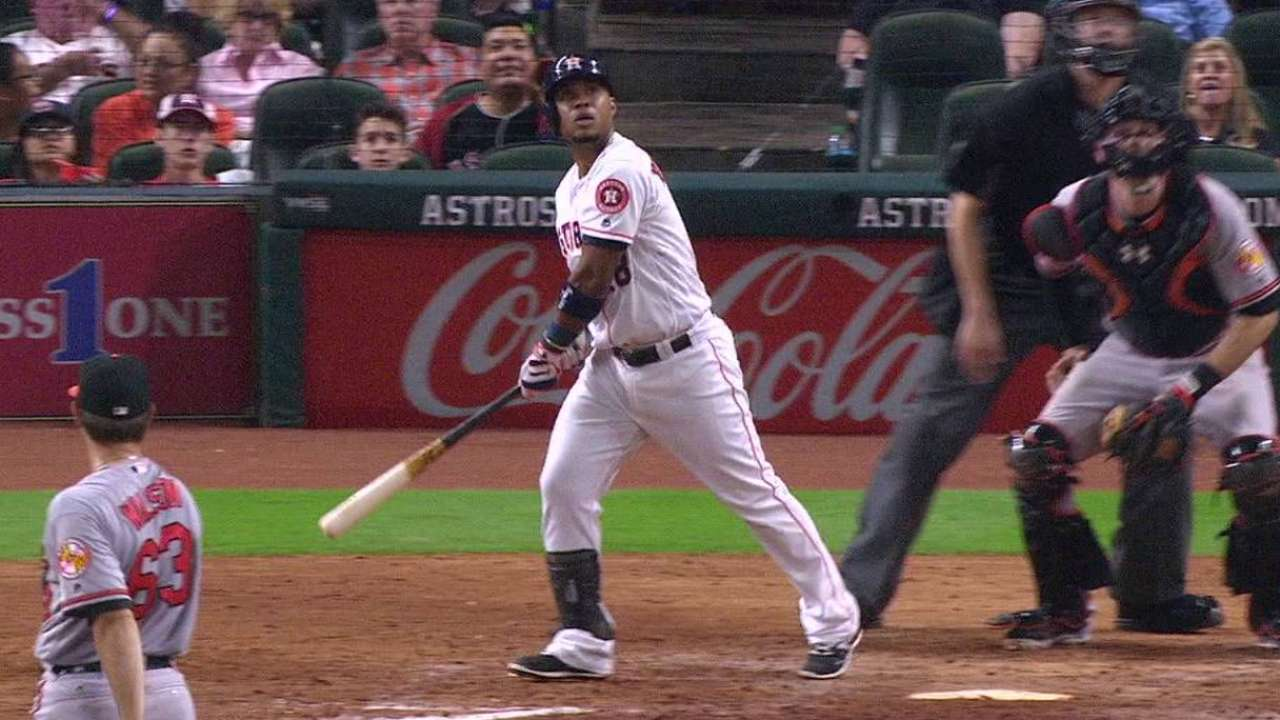 Homers help Astros lock up series win vs. O's