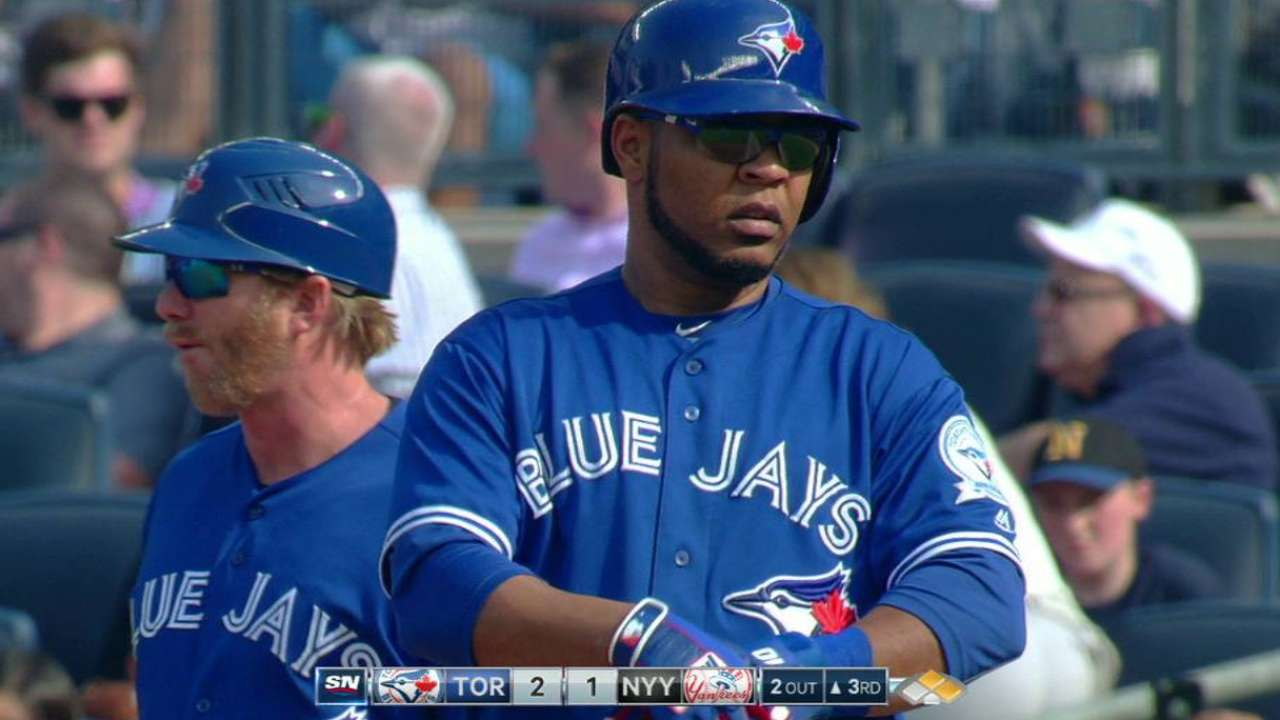Two hits help Blue Jays turn tide with RISP