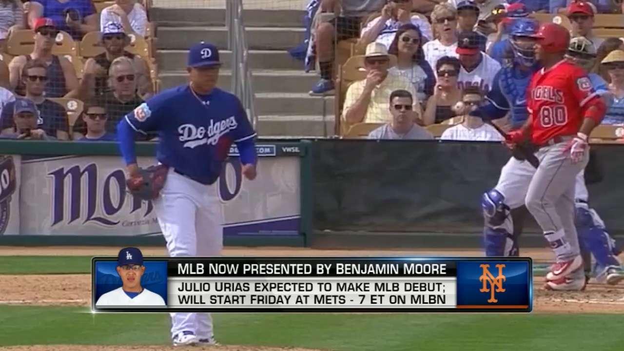 MLB Now on Julio Urias