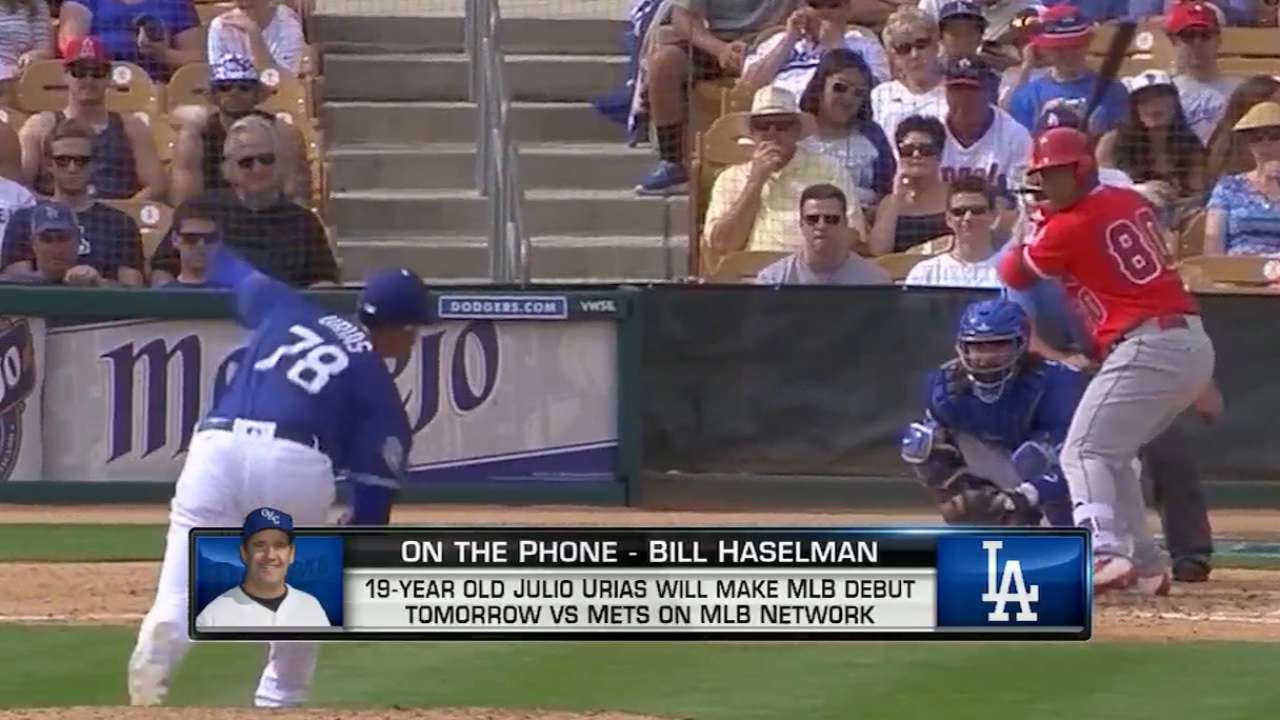 MLB Tonight: Haselman on Urias