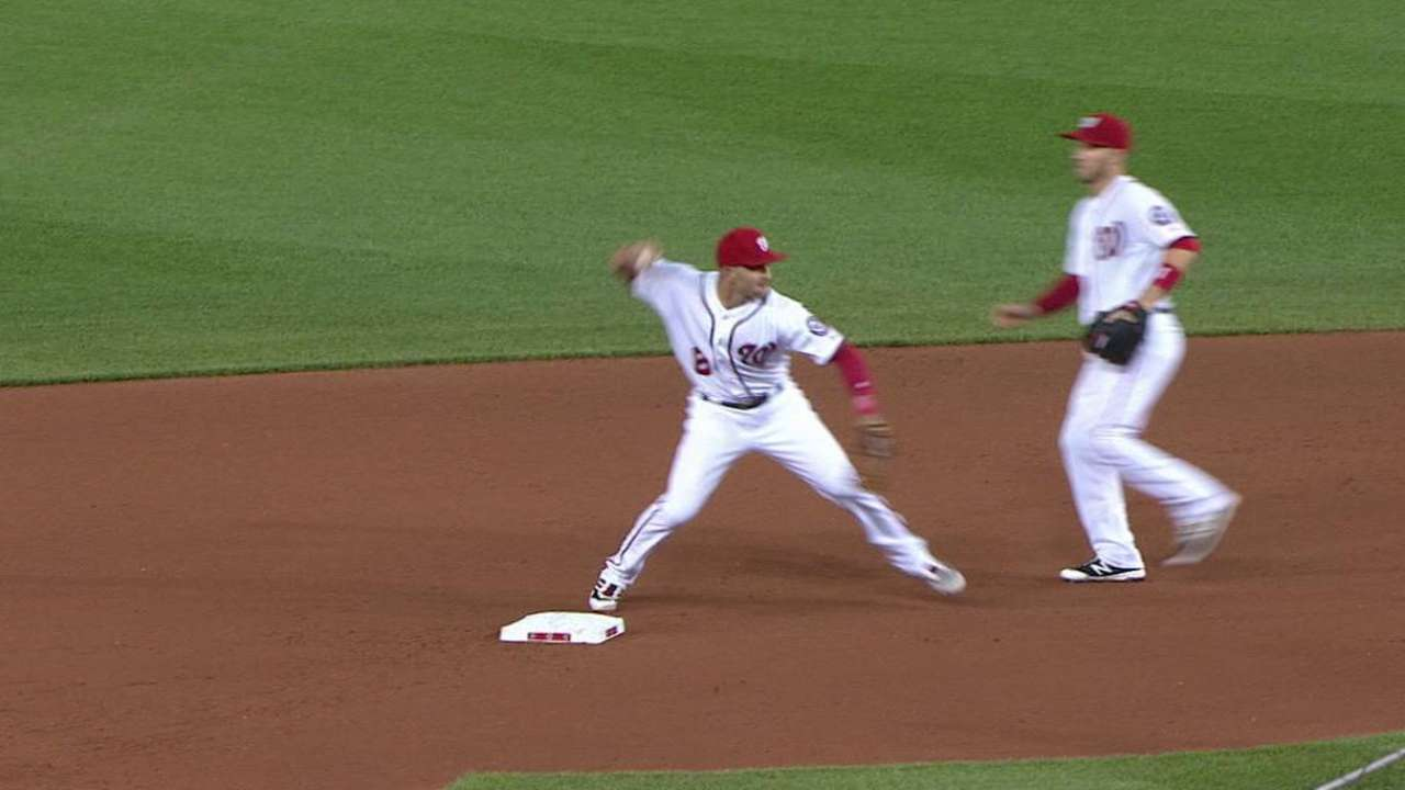 Ross escapes trouble in the 7th