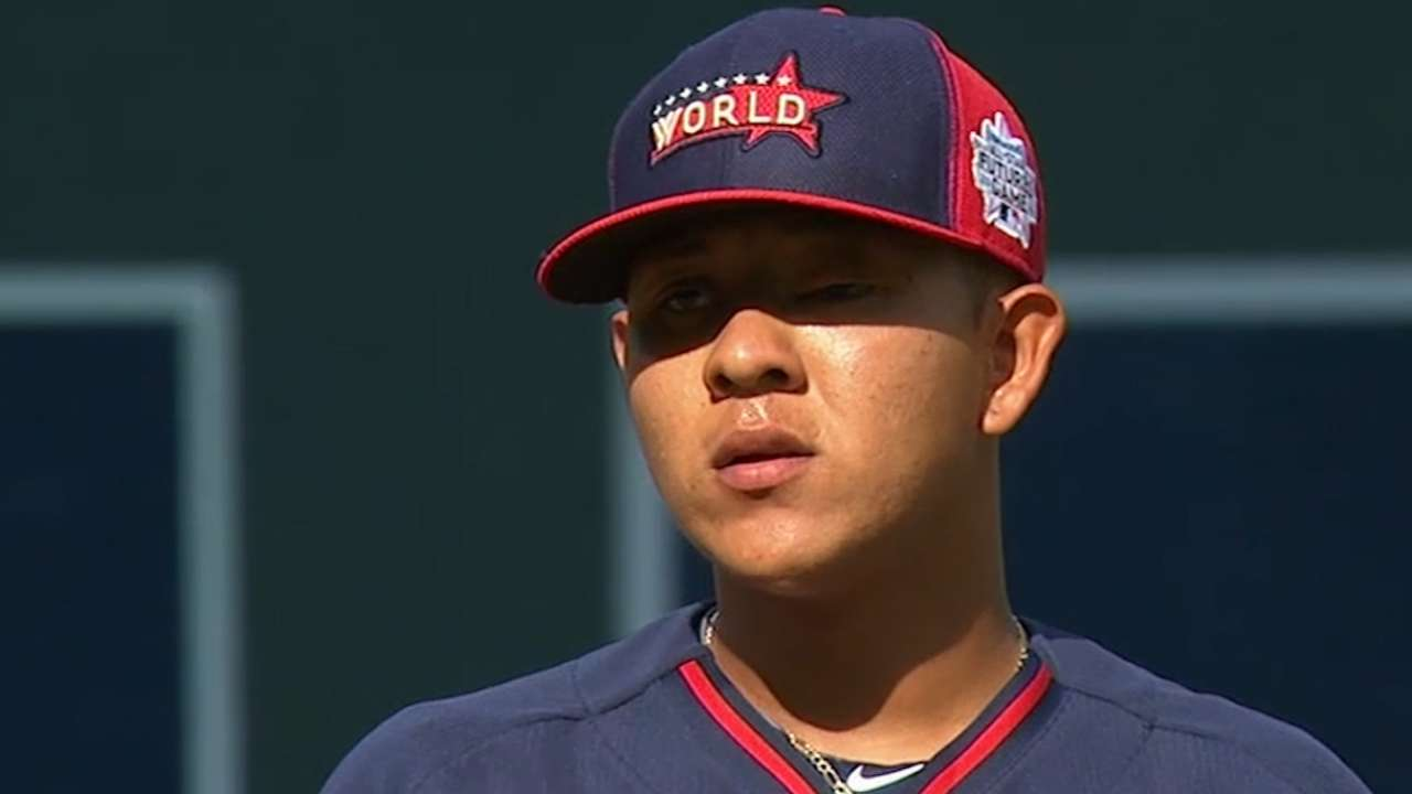 No. 2 MLB prospect Urias debuts for LA on Friday