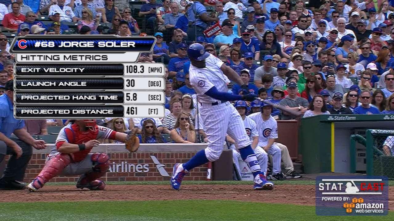 Statcast: Soler's mammoth homer