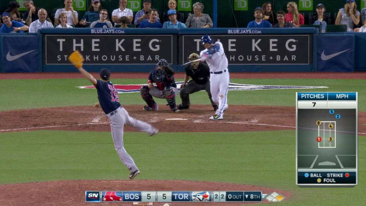 Donaldson powers Jays past Red Sox