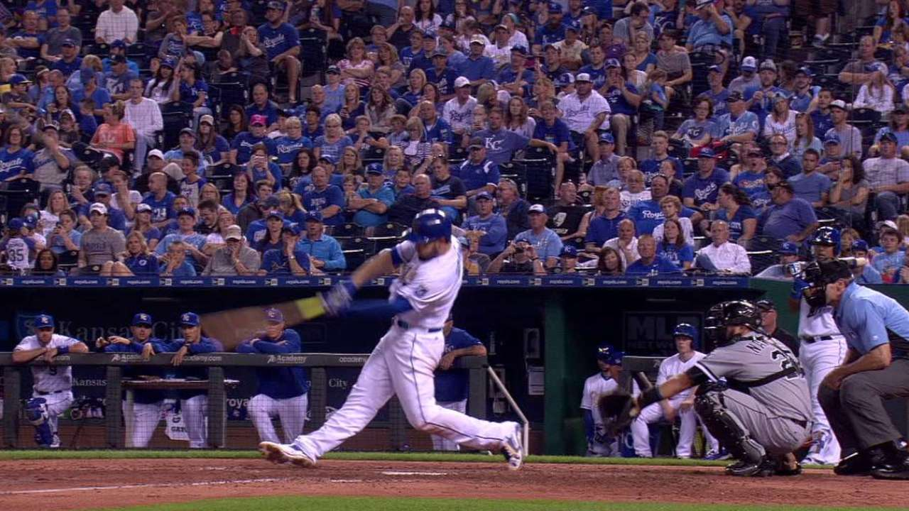 Hosmer's home run