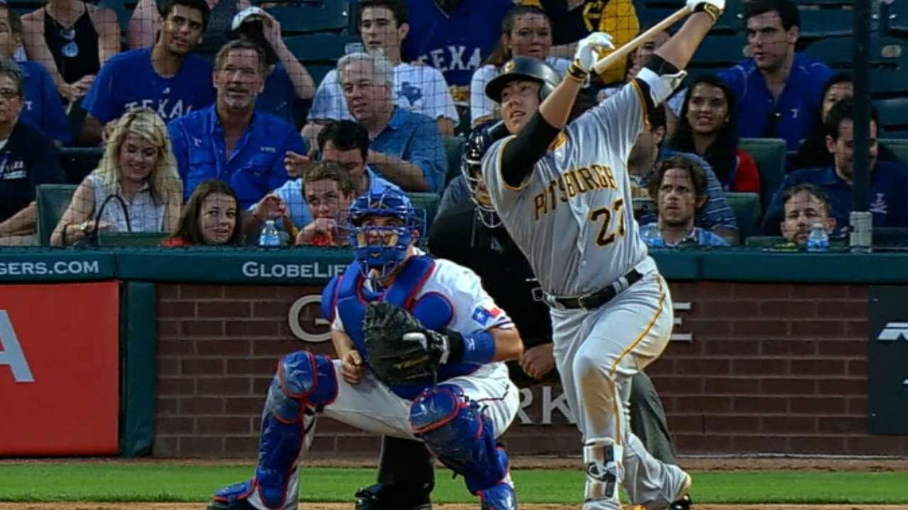 Pirates five-run fifth inning