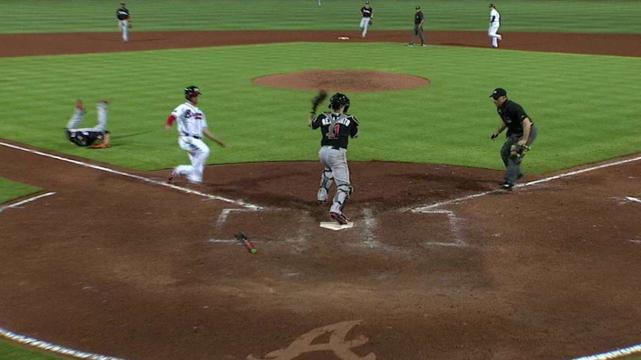 Overturned DP highlights crazy eighth