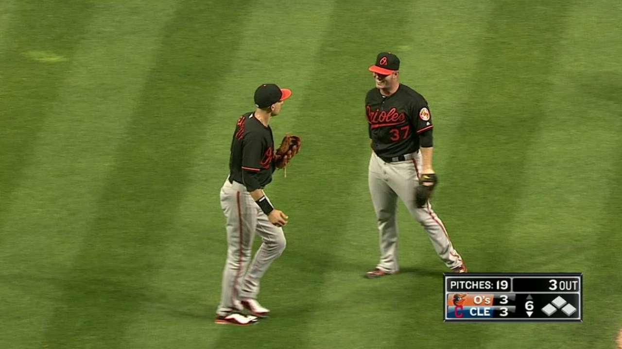 Reliever Bundy notches first big league win