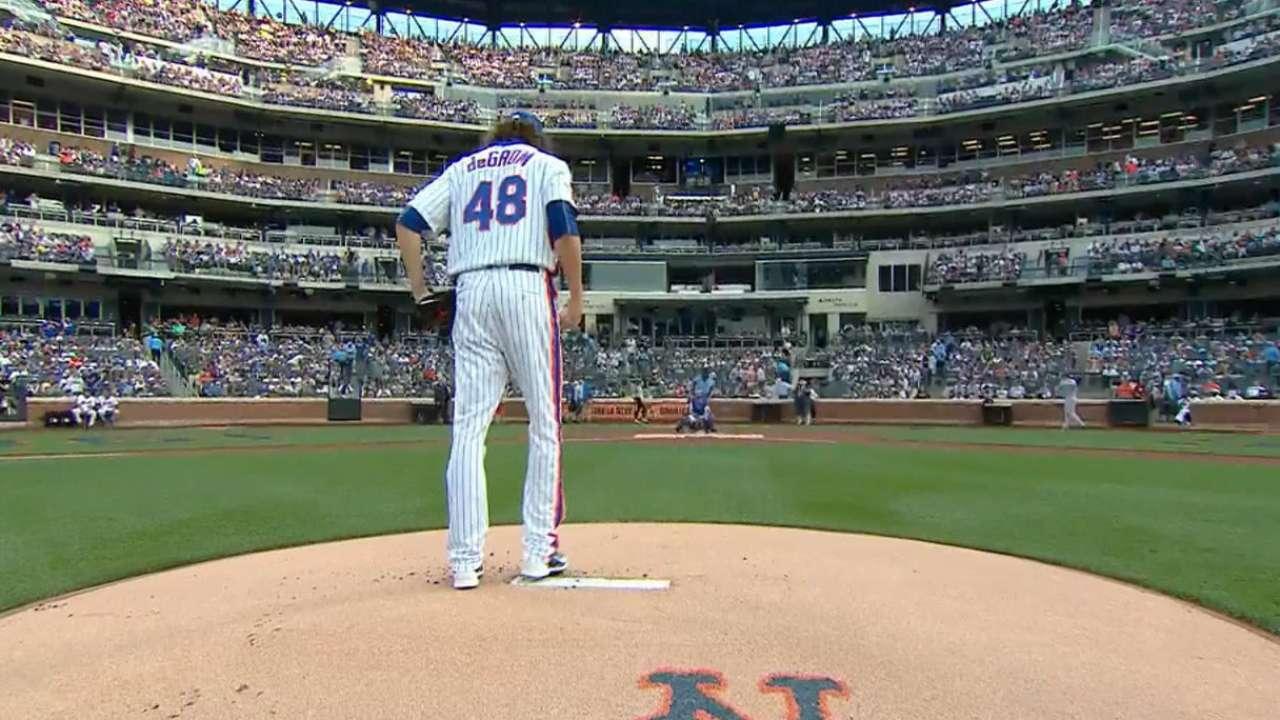 deGrom, Mets open full slate on MLB.TV