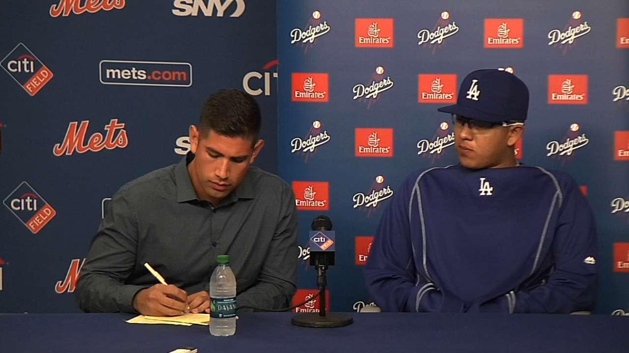 Urias discusses MLB debut