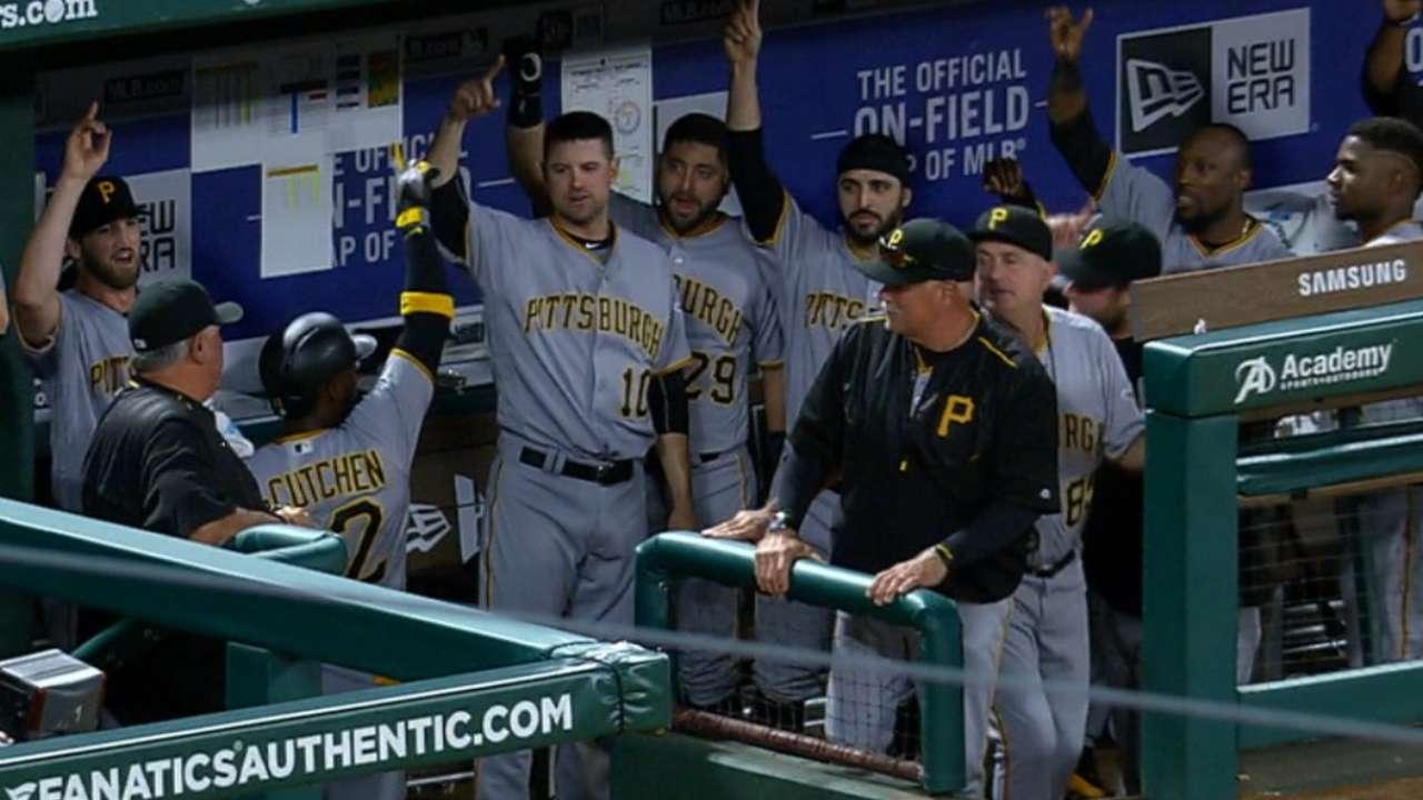Pirates belt four homers