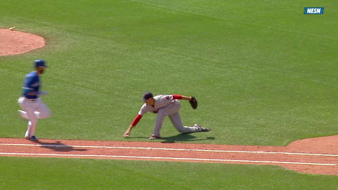 Porcello recovers, gets Bautista