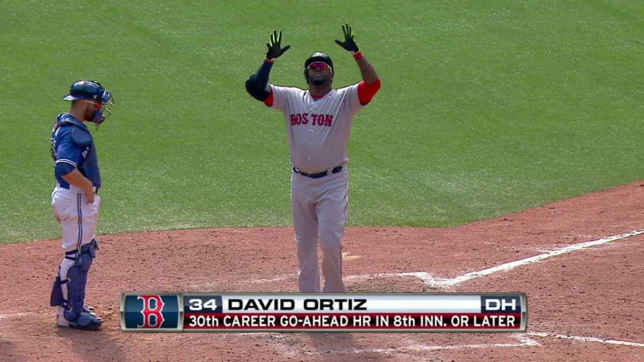 This is 40: Papi rakes at Rogers Centre