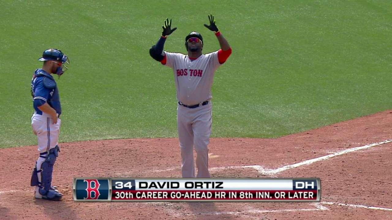 Ortiz's go-ahead homer