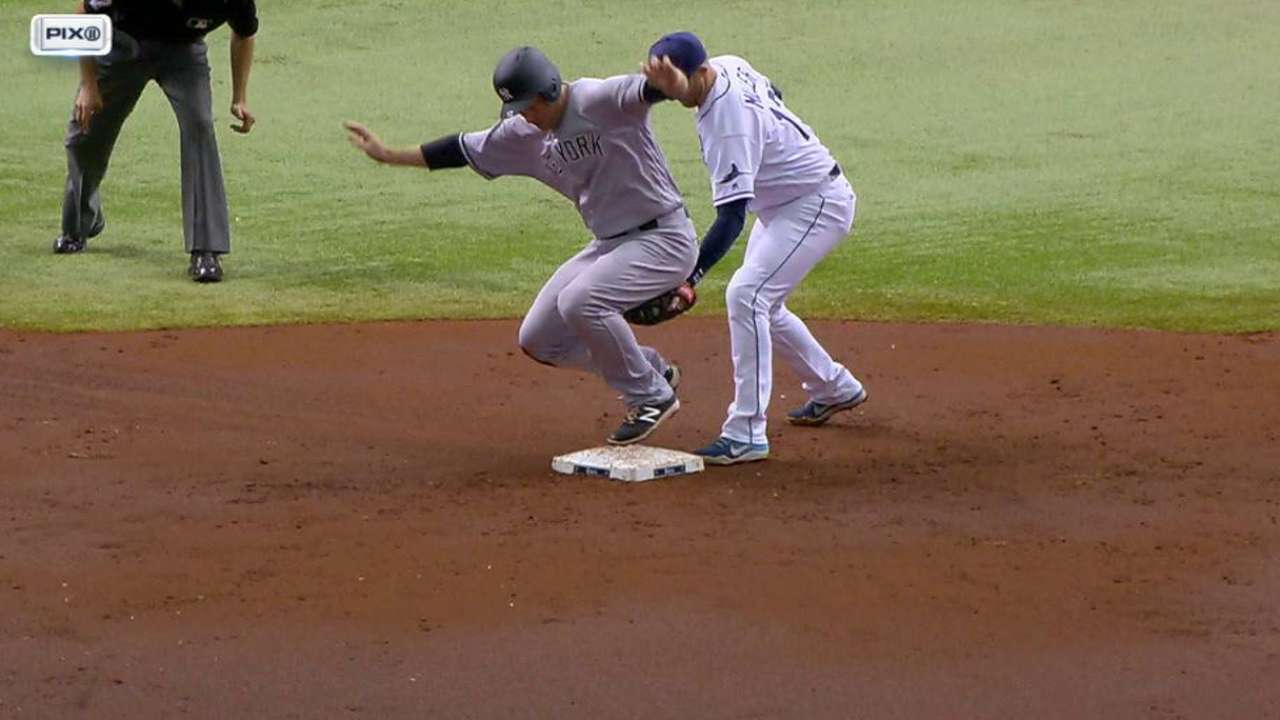 Rays get Headley on review