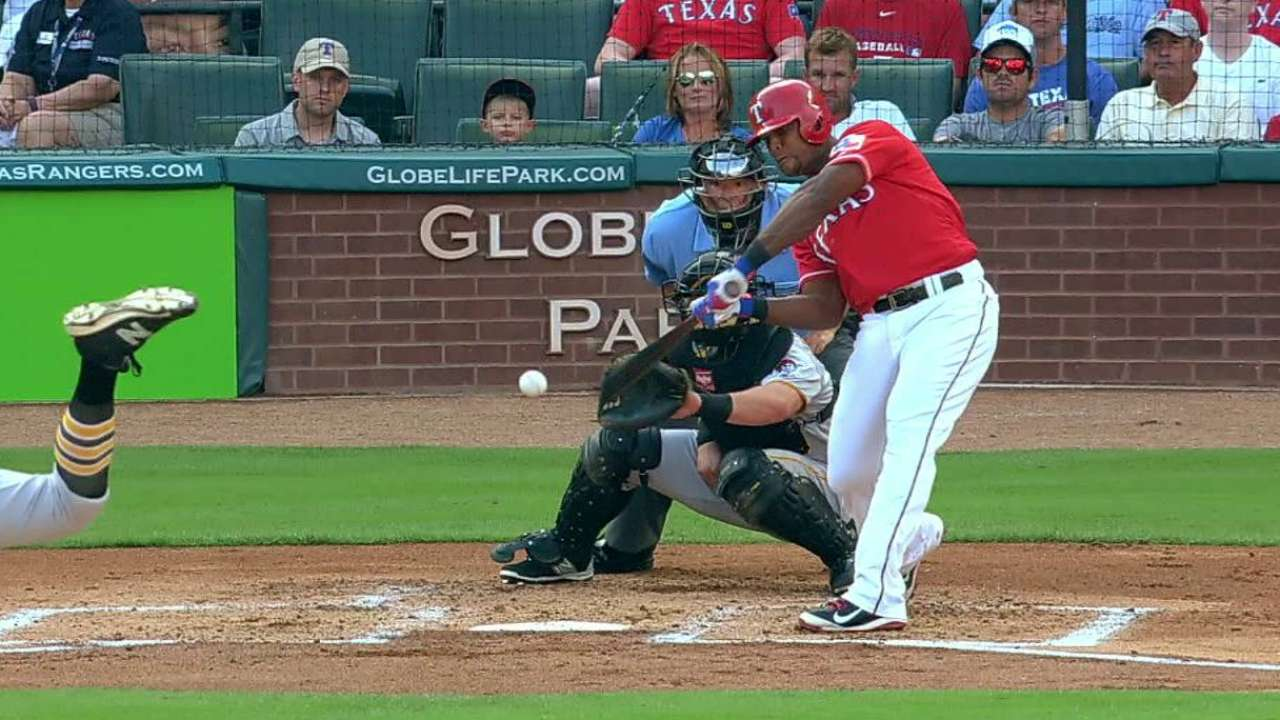 Beltre's two-run moonshot