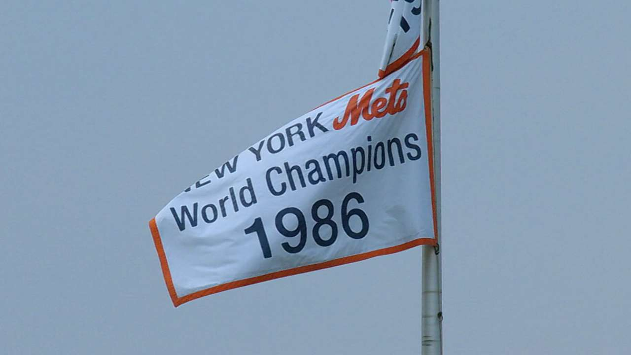 Thirty years later, Mets celebrate '86 champs