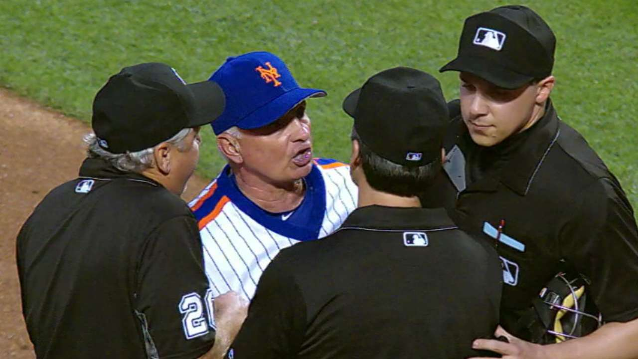 Syndergaard ejected for pitch