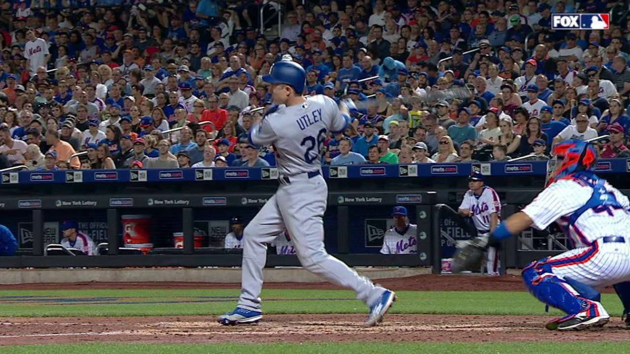 Utley has last laugh, slams Mets with 2 HRs