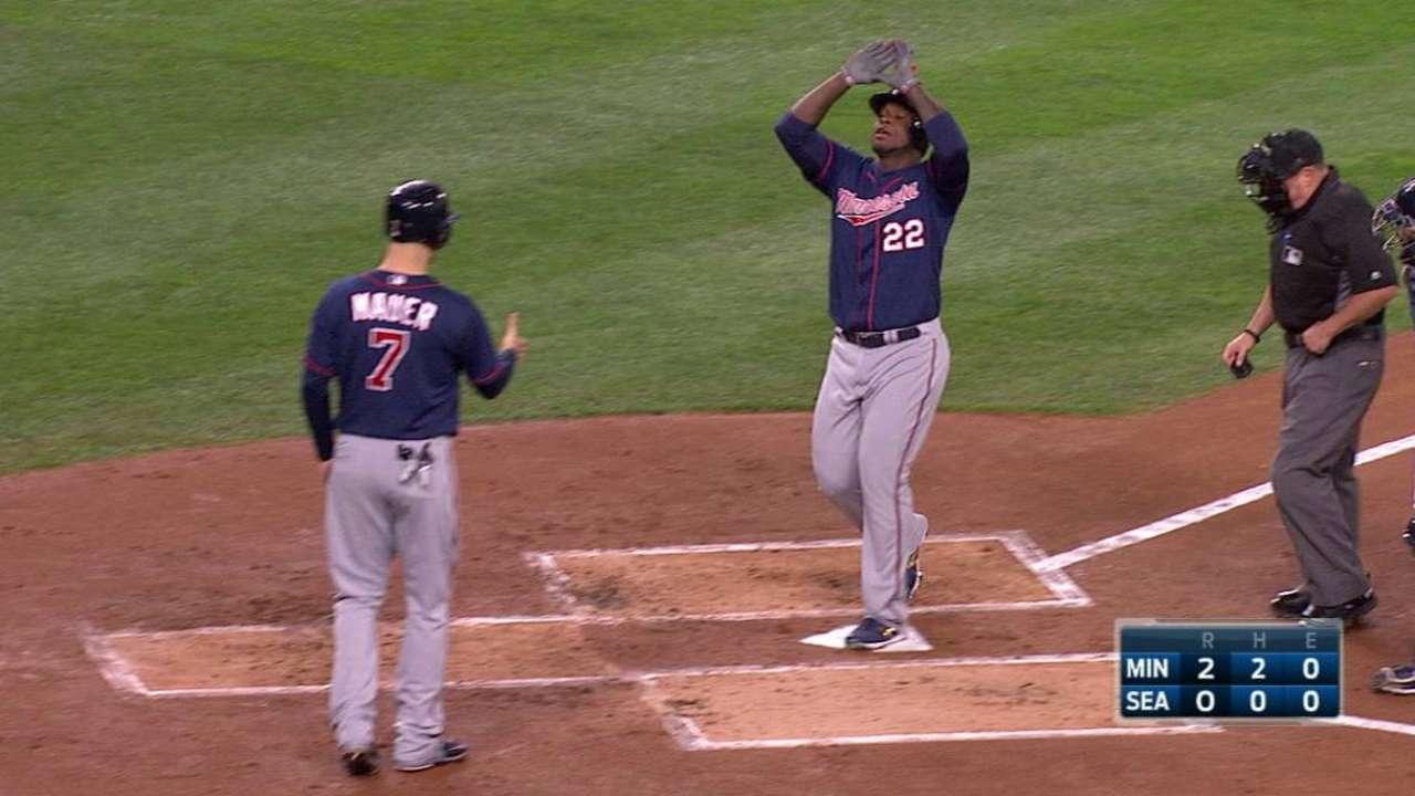 Sano clubs a two-run homer
