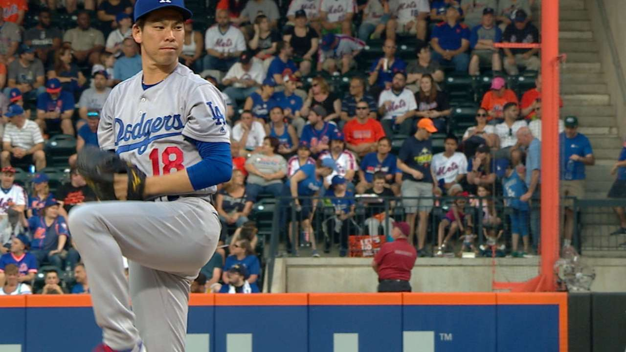 Maeda slowed, not stopped by comebacker