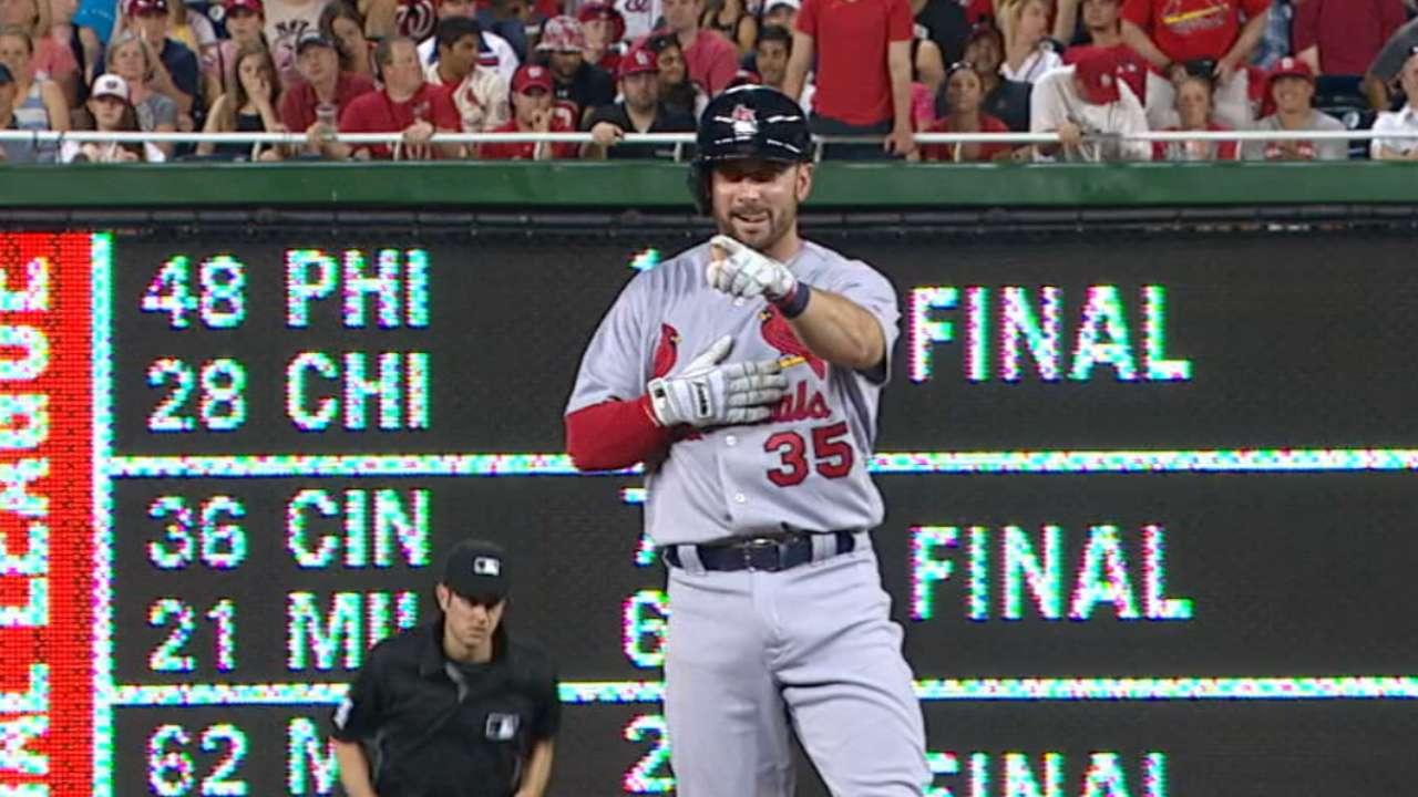Garcia's three-hit game