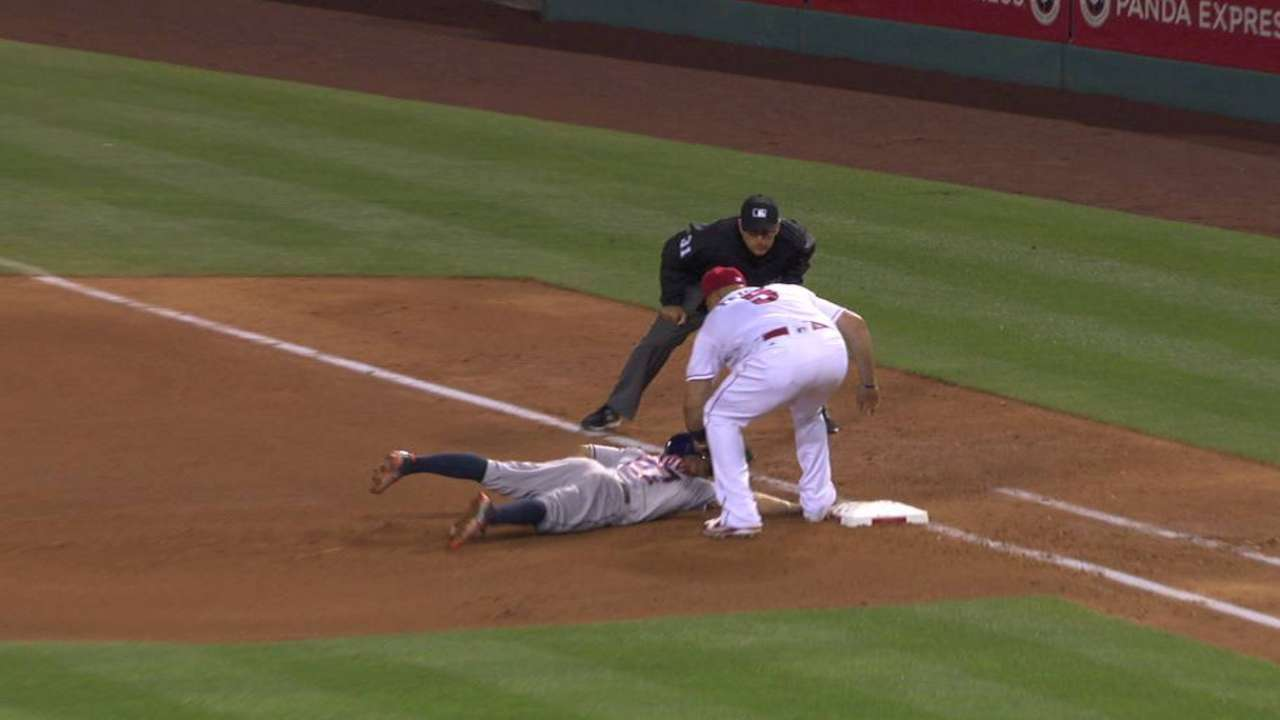 Angels' strong pickoff skills counter slow delivery