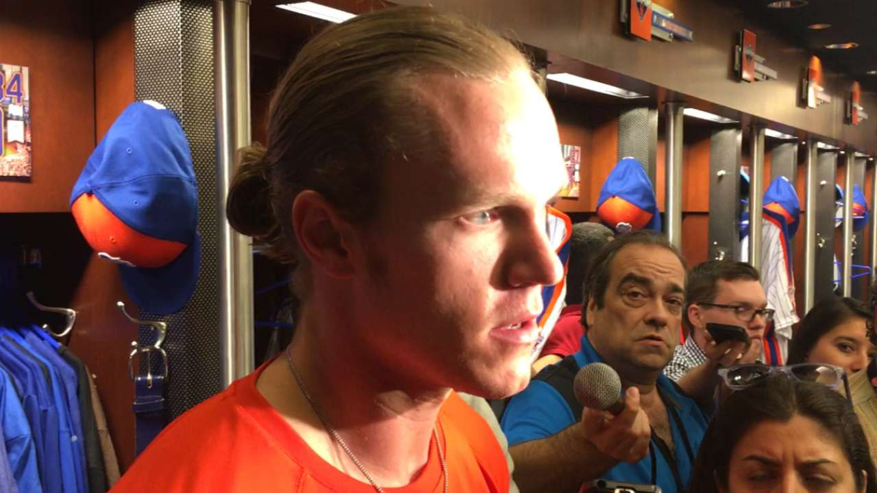 Mets could use Syndergaard in 'pen Tuesday