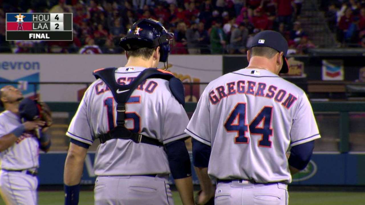 Gregerson shuts the door