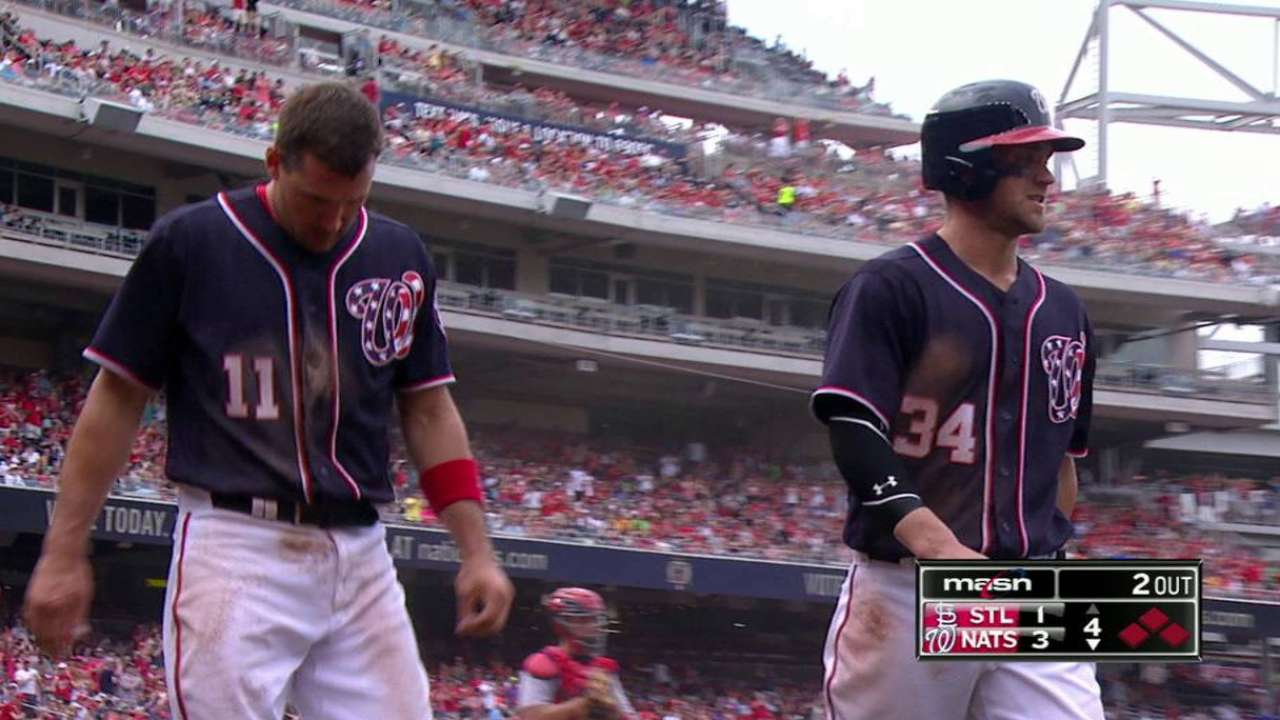 Strasburg moves to 9-0 as Nats rout Cards