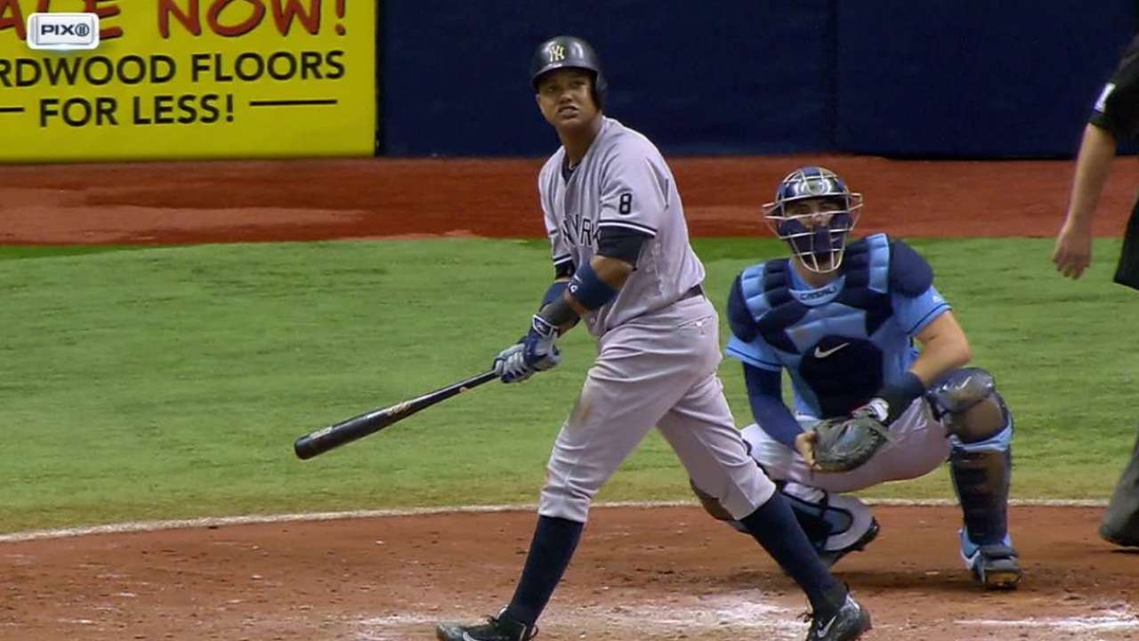 Won-hitter! See how Yanks grazed Rays