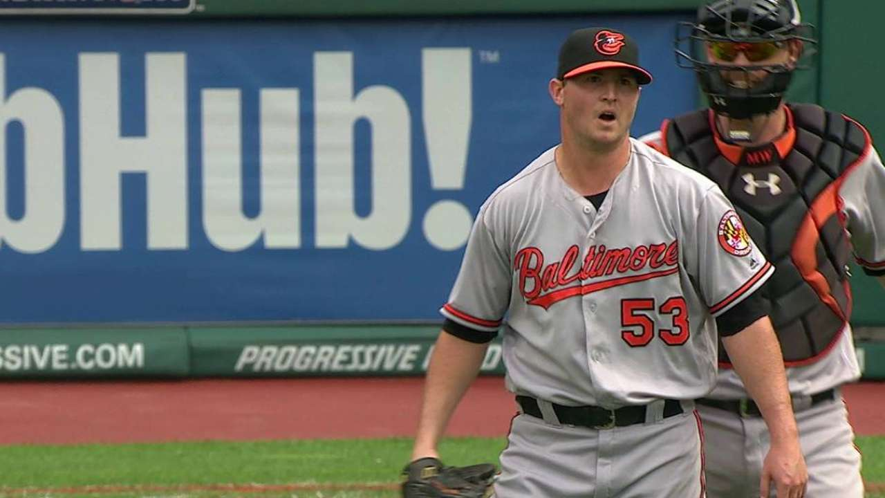 Key hits missing late for Tribe in loss