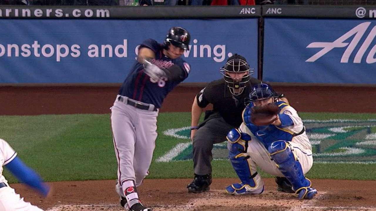 Grossman's solo home run