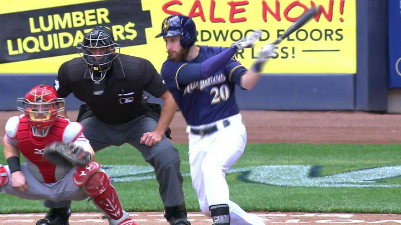 Lucroy, Nelson propel Crew to rubber game win