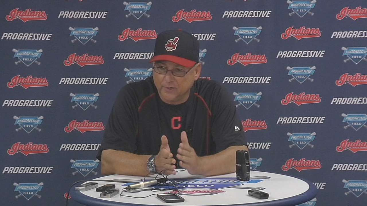 Francona on Clevinger in loss