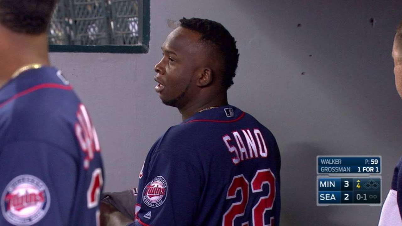 Twins activate Sano, option Park to Rochester