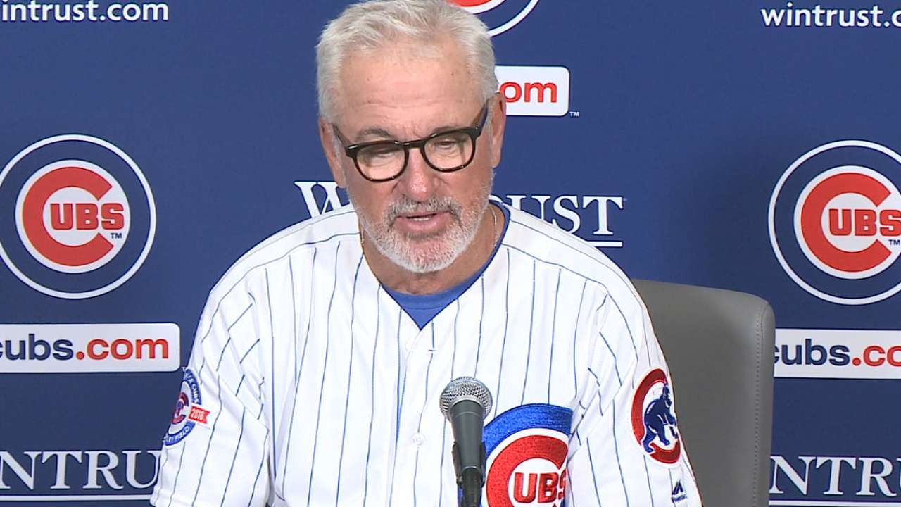 Maddon on Lackey, offense in win