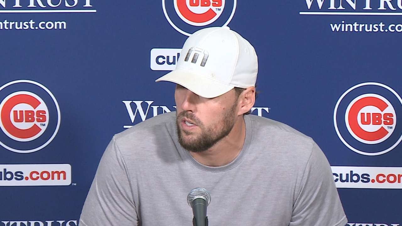 Lackey on his strong start