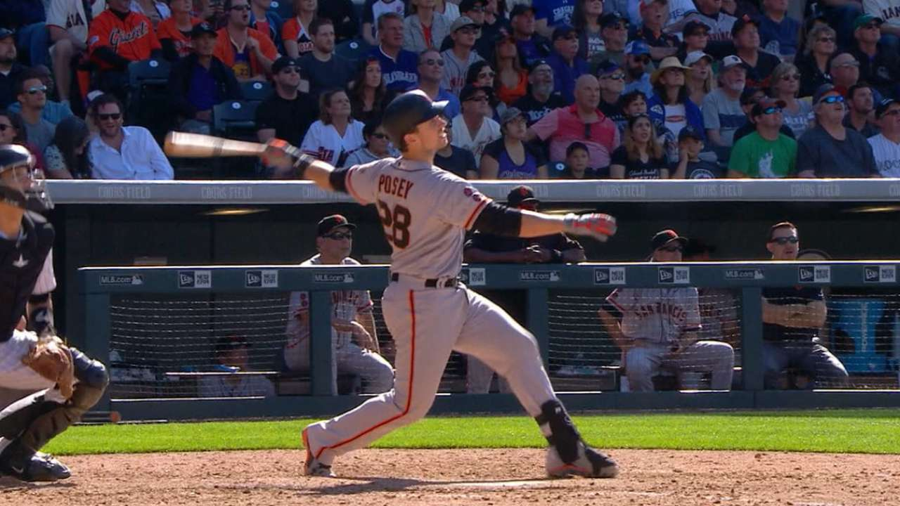 Must C: Posey's monster day