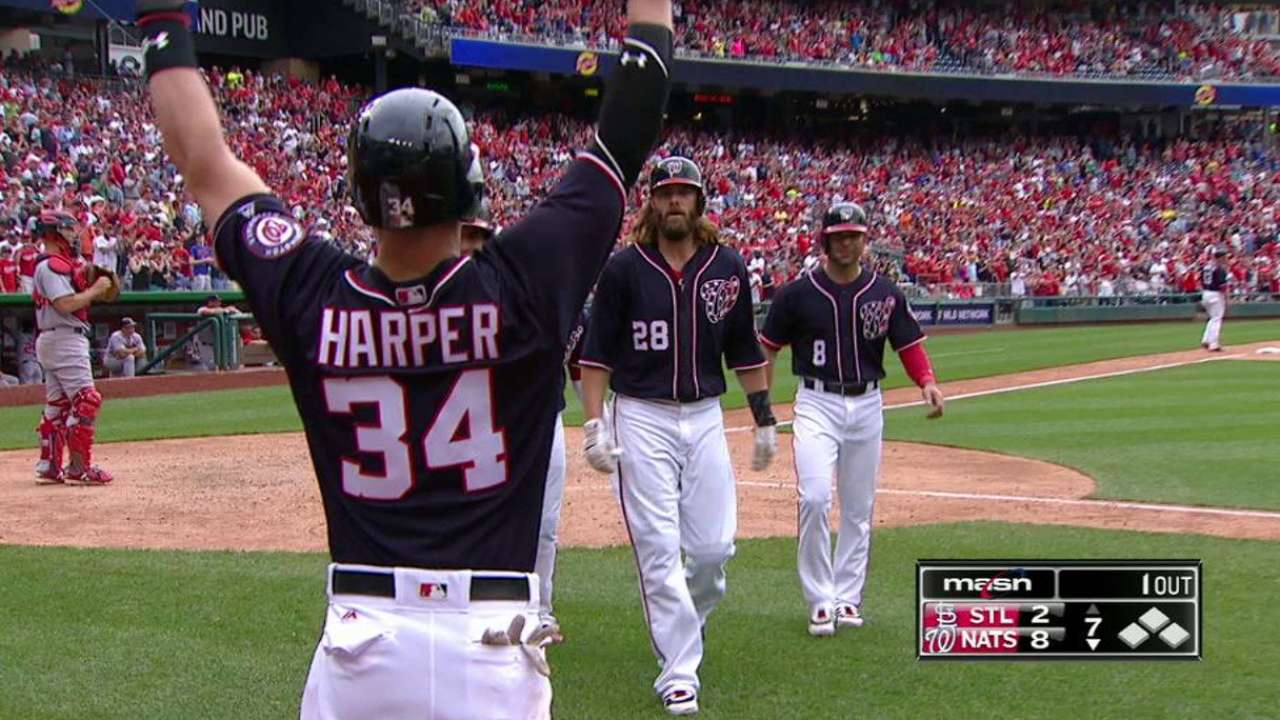 Werth's pinch-hit slam helps propel Nationals
