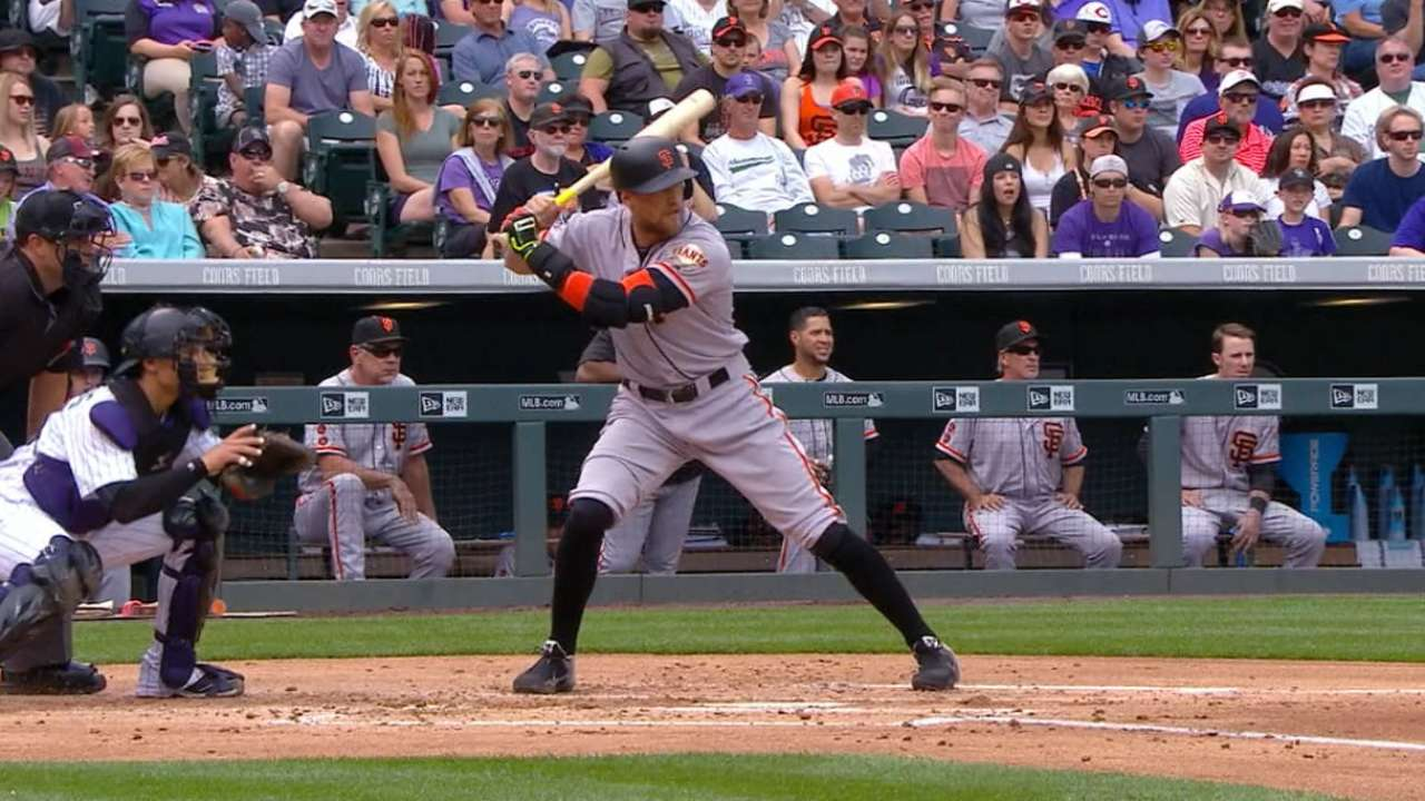 Pence's three RBI doubles